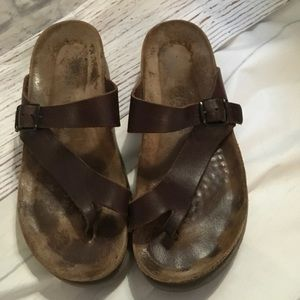 Mephistopheles leather sandals size 10